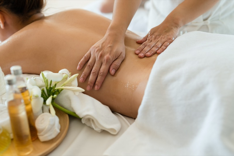 post-partum massage